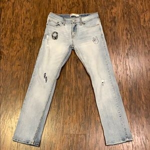 Levi's 511 Slim embroidered Jeans